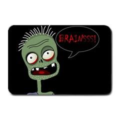 Halloween zombie Plate Mats
