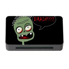 Halloween zombie Memory Card Reader with CF