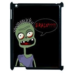 Halloween zombie Apple iPad 2 Case (Black)