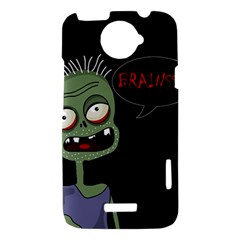 Halloween zombie HTC One X Hardshell Case