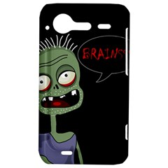 Halloween zombie HTC Incredible S Hardshell Case