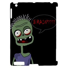 Halloween zombie Apple iPad 2 Hardshell Case (Compatible with Smart Cover)