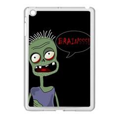 Halloween zombie Apple iPad Mini Case (White)