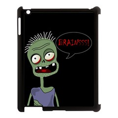 Halloween zombie Apple iPad 3/4 Case (Black)
