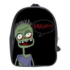 Halloween zombie School Bags (XL)