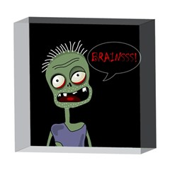 Halloween zombie 5  x 5  Acrylic Photo Blocks