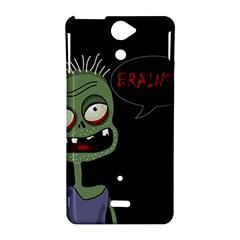 Halloween zombie Sony Xperia V