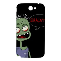 Halloween zombie Samsung Note 2 N7100 Hardshell Back Case