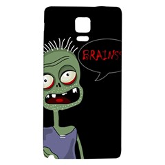 Halloween zombie Galaxy Note 4 Back Case