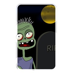 Halloween zombie on the cemetery Memory Card Reader