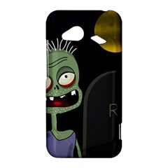 Halloween zombie on the cemetery HTC Droid Incredible 4G LTE Hardshell Case