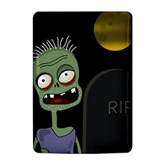 Halloween zombie on the cemetery Kindle 4