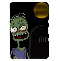 Halloween zombie on the cemetery Samsung Galaxy Tab 8.9  P7300 Hardshell Case