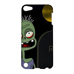 Halloween zombie on the cemetery Apple iPod Touch 5 Hardshell Case