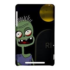 Halloween zombie on the cemetery Nexus 7 (2012)