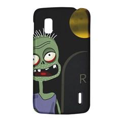 Halloween zombie on the cemetery LG Nexus 4