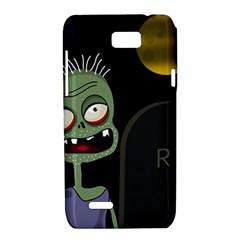 Halloween zombie on the cemetery Motorola XT788