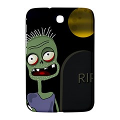 Halloween zombie on the cemetery Samsung Galaxy Note 8.0 N5100 Hardshell Case