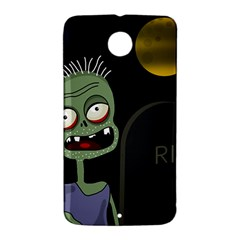 Halloween zombie on the cemetery Nexus 6 Case (White)