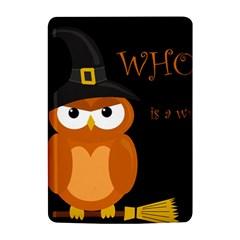 Halloween witch - orange owl Kindle 4