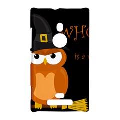 Halloween witch - orange owl Nokia Lumia 925