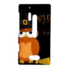 Halloween witch - orange owl Nokia Lumia 928