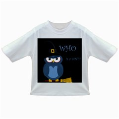 Halloween witch - blue owl Infant/Toddler T-Shirts