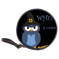 Halloween witch - blue owl Classic 20-CD Wallets