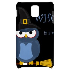 Halloween witch - blue owl Samsung Infuse 4G Hardshell Case