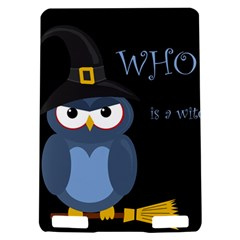 Halloween witch - blue owl Kindle Touch 3G