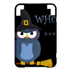 Halloween witch - blue owl Kindle 3 Keyboard 3G