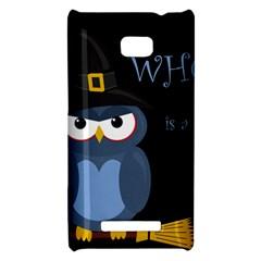 Halloween witch - blue owl HTC 8X