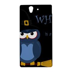Halloween witch - blue owl Sony Xperia Z