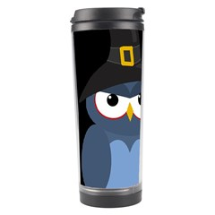 Halloween witch - blue owl Travel Tumbler