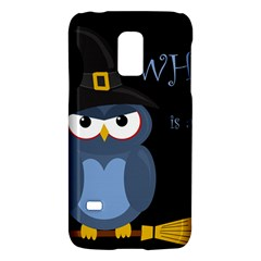 Halloween witch - blue owl Galaxy S5 Mini