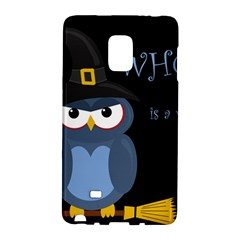 Halloween witch - blue owl Galaxy Note Edge