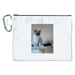 Ragdoll Kitten Canvas Cosmetic Bag (XXL)