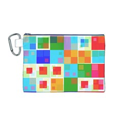 Arrangement Aesthetics Aesthetic  Canvas Cosmetic Bag (M)