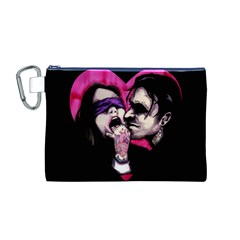I Know What You Want Canvas Cosmetic Bag (M)