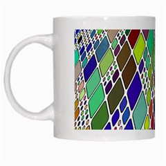 Color Table White Mugs