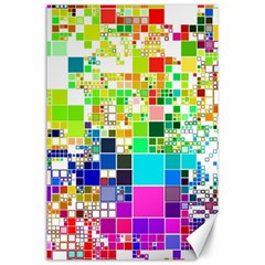 Creativity Abstract Squares  Canvas 24  x 36
