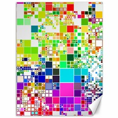 Creativity Abstract Squares  Canvas 36  x 48