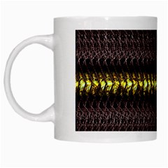 Fabric Pattern Color Structure White Mugs