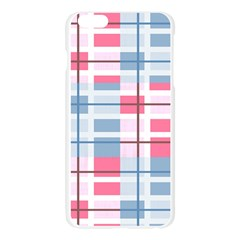 Fabric Textile Nursery Pale Baby  Apple Seamless iPhone 6 Plus/6S Plus Case (Transparent)