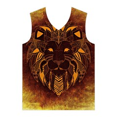 Lion Wild Animal Abstract Men s Basketball Tank Top