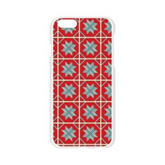 Pattern Backdrop Fabric Background Apple Seamless iPhone 6/6S Case (Transparent)