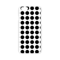 Pattern Dots Grid Circle Creative Apple Seamless iPhone 6/6S Case (Transparent)