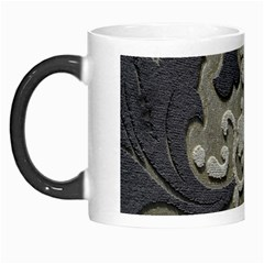 Pattern Fabric Textile Brown Beige Morph Mugs