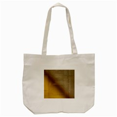 Plane Tissue Fold Fabric Network Tote Bag (Cream)