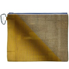 Plane Tissue Fold Fabric Network Canvas Cosmetic Bag (XXXL)